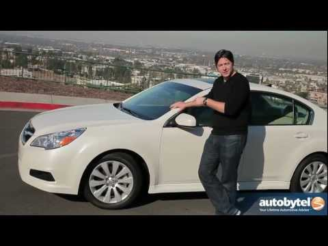2012 Subaru Legacy Test Drive & Car Review