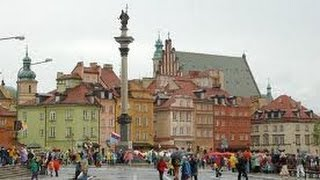 Pologne les monuments de Varsovie capitale Polonaise