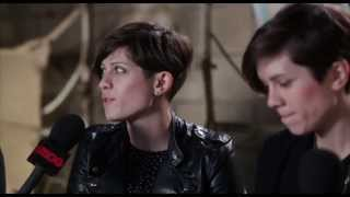 TEGAN & SARA - Groovin The Moo 2013 Interview BPMTV