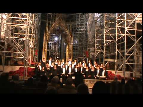 ETSU Chorale at St. Patrick's Cathedral, NYC
