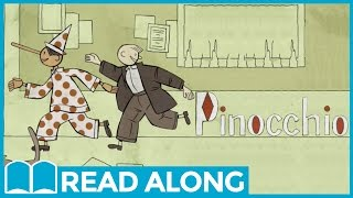 Pinocchio #ReadAlong StoryBook Video For Kids Ages 2-7