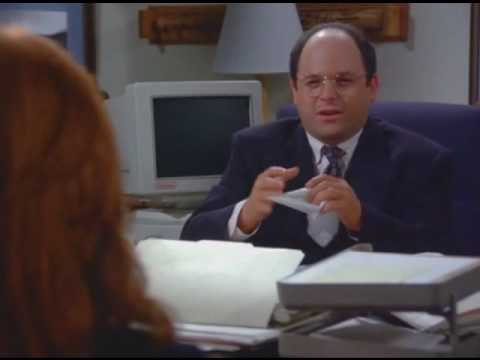 George Picks a Secretary - seinfeld