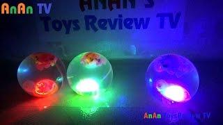 Đồ chơi bóng cá phát sáng - Fish light Ball toy ❤ Anan ToysReview TV ❤