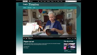 Boo Paterson, Papercut This Book BBC2 Timeline