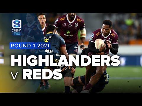 Download Super Rugby Trans Tasman | Highlanders v Reds - Round 1 Highlights
