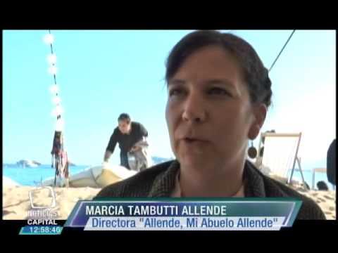 Marcia Tambutti Allenade estrena su película
