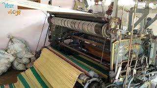 sleeping mat making process/ river grass mat /korai pai mats/ korai mat weaving step by step process