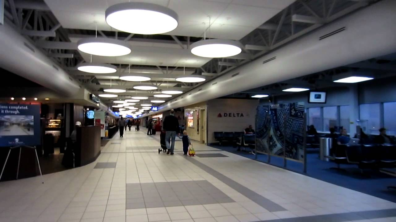 Lambert   St. Louis International Airport Interior Design   YouTube