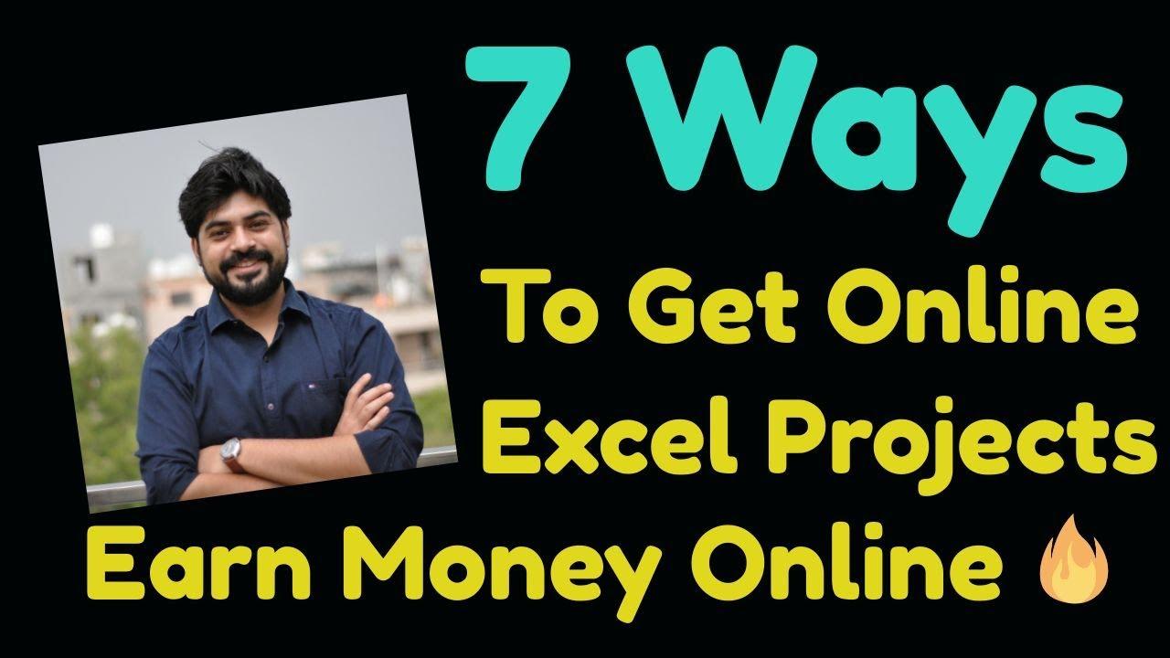 Earn Money Online Using Excel