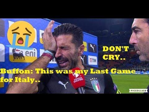 Gigi Buffon - Goodbye Italia • 1997 - 2017 HD