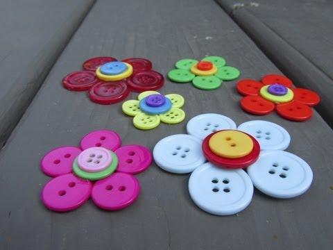 button-flower-craft-tutorial