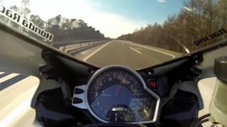 Honda CBR1000RR SC59 Fireblade 0-300 km/h / VMax 300km/h / Top Speed