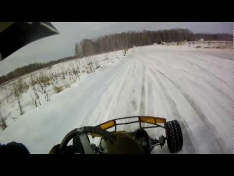 зимний картинг г. Снежинск 09.03.2012