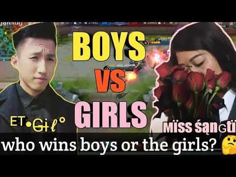 BOYS VS GIRLS WHO WINS? - MOBILE LEGENDS BANG BANG - #devilgaming thumbnail