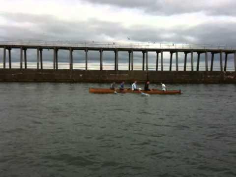 Whitby UK   Whitby Regatta Rowing Race 2011