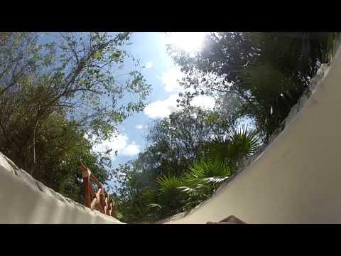 water slide XPLOR WATER PARK, CANCUN MEXICO