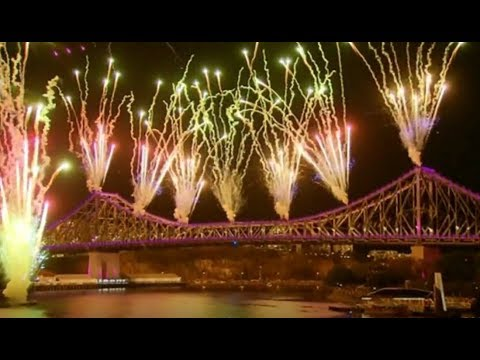 Brisbane Sunsuper Riverfire 2017