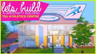 The Sims 4   Let's Build Tsuniversity School Of Athletics