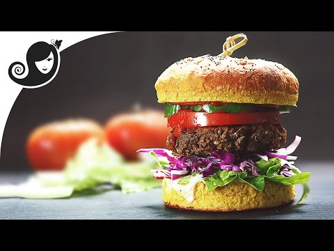 My Best Veggie Burger | Vegan/Vegetarian Recipe + Soy-free + Gluten-free + Eggless
