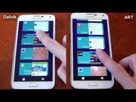 Samsung Galaxy S5 - Dalvik vs ART