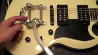 Bigsby B5 and Vibramate Installation