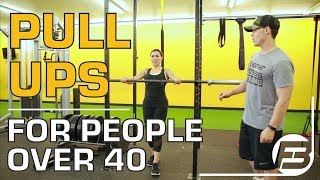 How to Do Pull Ups for Men and Women Over 40, 50 and 60