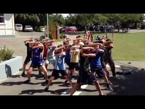 Timatanga Haka Year Six Boys Brightwater