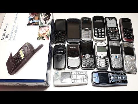 Даром 9 Килограмм ретро телефонов Посылка от подписчика Рихардса Ericsson T18S Part 3