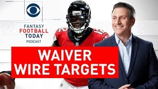 WAIVER WIRE Picks, Who to Drop, Week 8 | 2019 Fantasy Football Advice | Fantasy Football Today