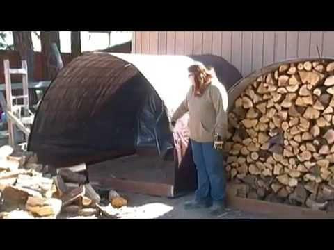 Learn To Build Simple Firewood Storage Bin
