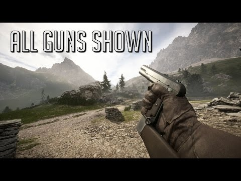 All Guns Shown - They Shall Not Pass DLC - Battlefield 1