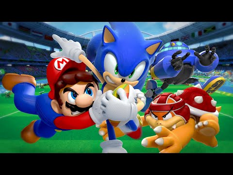 Mario & Sonic at the Rio 2016 Olympic Games - Trailer dos heróis (Wii U)