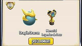 Dragon City - Unlock Dracon Dragon Egg & Memorial Legends of Deus in Tournament