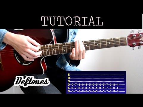 Cómo tocar My Own Summer (Shove it) - Deftones (Tutorial Guitarra)