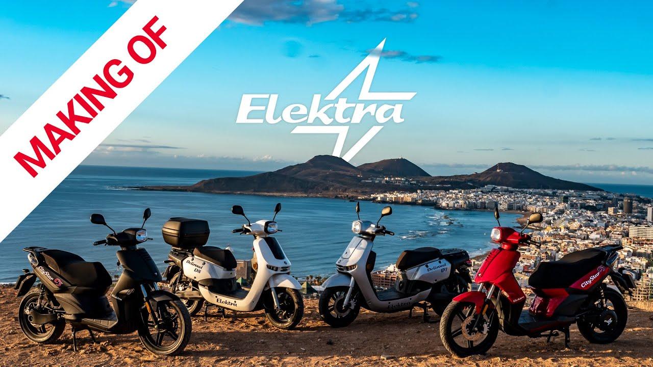 Elektra Bikes, making of del Spot publicitario