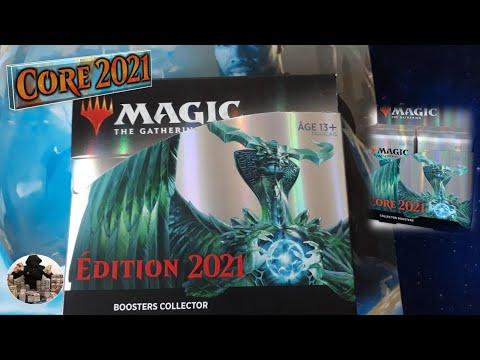 Download Magic 2021 : ouverture d'une boîte de 12 Boosters Collectors, cartes @Magic: The Gathering , mtg !