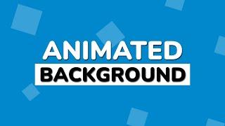 Animierte Hintergrund mit Reinem CSS und Html | Keine Javascript ohne Jquery