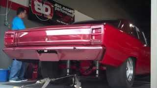 Drag Car Dyno Runs VIDEO #1 - NJ-North-Jersey-South-Jersey-Shore