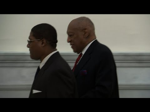 Cosby Arrives for Jury Deliberations