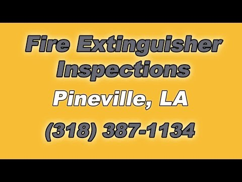 Fire Extinguisher Inspections Pineville LA