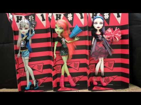 Обзор кукол монстер хай серия ghoul spirit (гул спирит) Группа поддержки