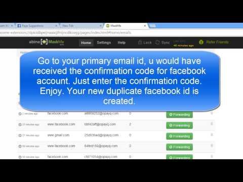 Πως να κάνετε πολλαπλούς λογαριασμούς στο facebook με το ίδιο email