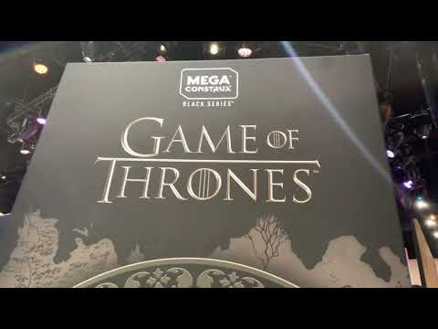 Mega Construx Game Of Thrones At San Diego Comic Con 2019