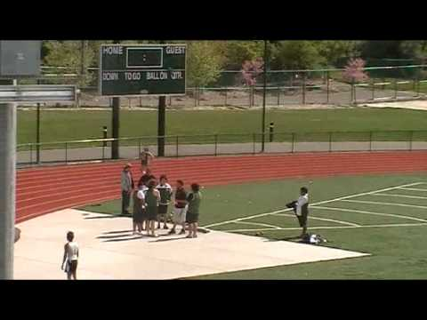 YBHS Track; 100 Meter Dash / (Part of) 4 By 1 Relay