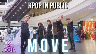 [KPOP IN PUBLIC] PRODUCE X 101 - MOVE (움직여) Dance Cover by OneForAll from AUSTRALIA