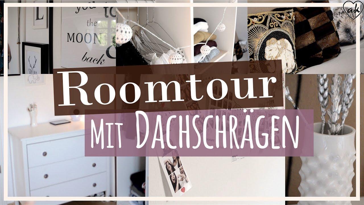 Zimmer Mit DACHSCHRÄGEN! Zimmer Meiner Freundin | Einrichtung, Deko | ♥ANNA  KAISER♥