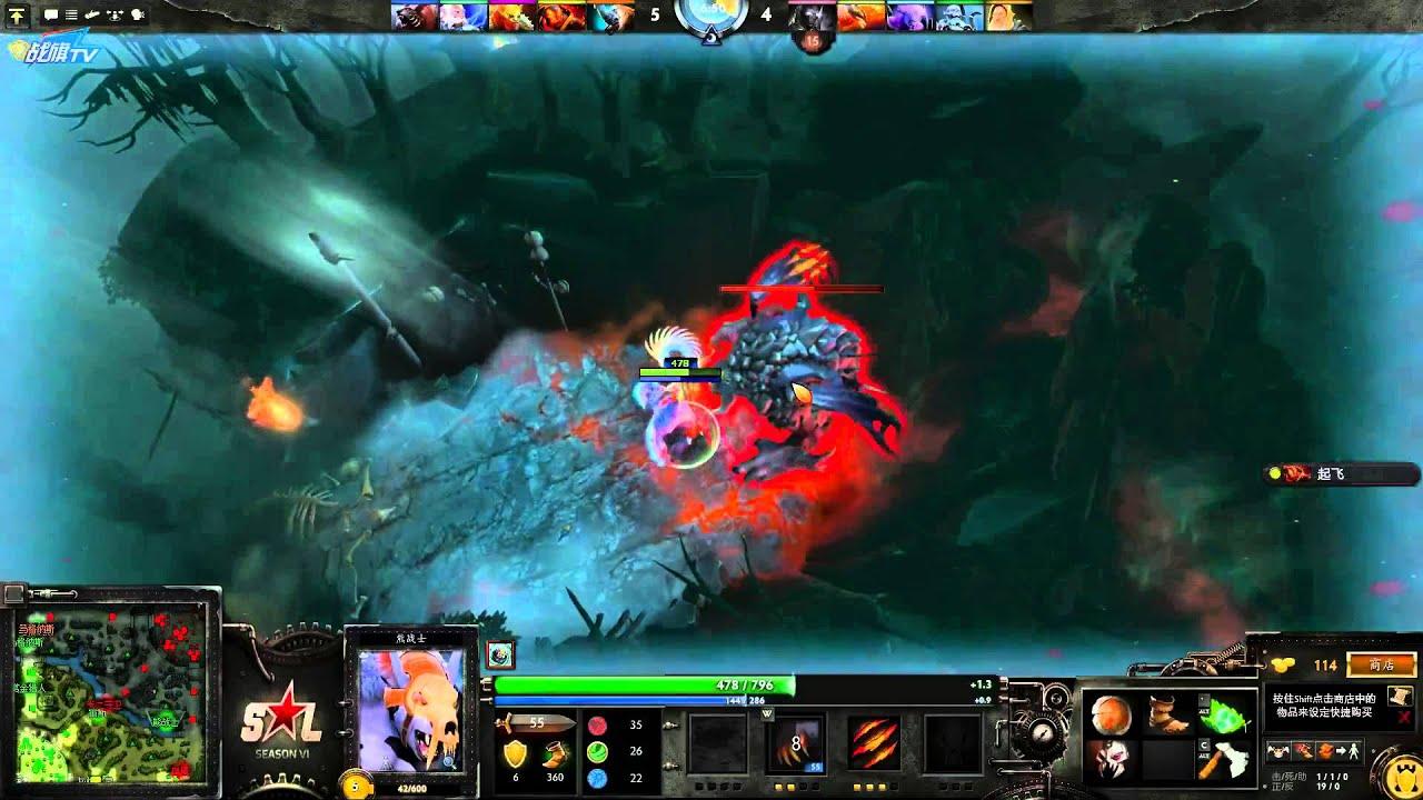 burning dota 2 live 476 crystal