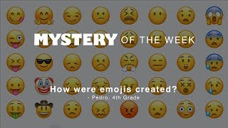 كيف كانت emojis خلقت ؟