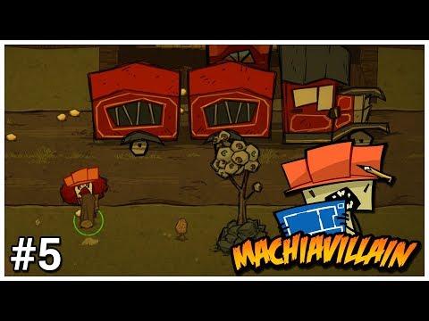MachiaVillain - #5 - Evil Clown Todd - Let's Play / Gameplay / Construction