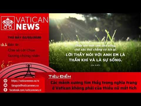 Radio: Vatican News Tiếng Việt thứ Bảy 02.05.2020